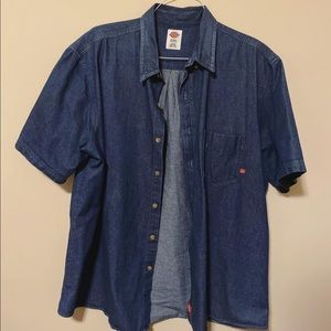 Classic Dickies Denim Button Down